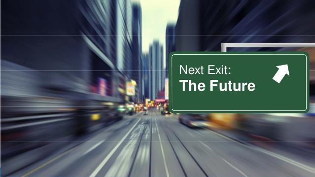 next exit, future