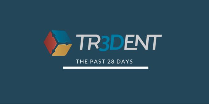 The last 28 days at Tr3Dent v1